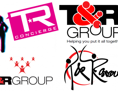 T&R Group Logo Comps